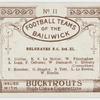 Belgraves Football Club 3rd  XI.