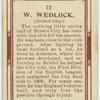 W. Wedlock (Bristol City).
