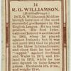 R. G. Williamson (Middlesbrough).