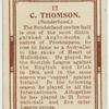 C. Thomson (Sunderland).