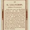 G. Lillycrop (Bolton Wanderers).