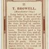 T. Browell (Manchester City).
