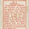 Arsenal v. Blackburn Rovers.