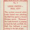 Leeds United v. Hull City.