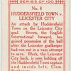 Huddersfield Town v. Leicester City.