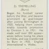 D. Tremelling (Bury)