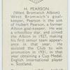 H. Pearson (West Bromwich Albion)