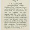 F. R. Goodall (Huddersfield Town)