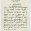 M. Webster (Middlebrough)