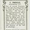 C. Pringle, Manchester City.
