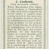 J. Cookson (West Bromwich Albion).
