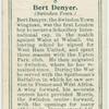 Bert Denyer (Swindon Town).