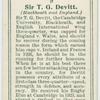 Sir T. G. Devitt (Blackheath and England).