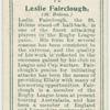 Leslie Fairclough (St. Helens).