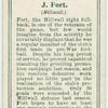 J. Fort (Millwall).