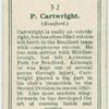P. Cartwright (Bradford).