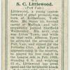 S. C. Littlewood (Port Vale).