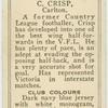 C. Crisp, Carlton.