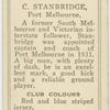 C. Stanbridge, Port Melbourne.