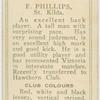F. Phillips, St. Kilda.