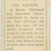 Vic. Thorpe.