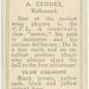 A. Geddes, Richmond.