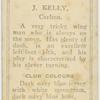 J. Kelly, Carlton.