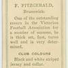 F. Fitzgerald, Brunswick.