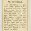 W. Schmidt.