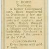 P. Rowe, Northcote.