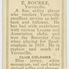 E. Bourke, Yarraville.