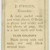 J. O'Brien, Essendon.