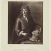 Le sculpteur Gibbons.