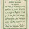 Green magpie (Cissa chinensis).