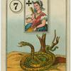 [Queen of clubs (Snake).]