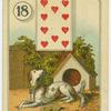 [Ten of hearts (Dog outside).]