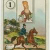 [Queen (Man on horse).]