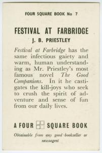 Fesitval at Farbridge.