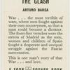 The clash.