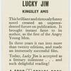 Lucky Jim.
