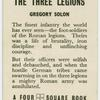 The three legions.