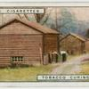 Tobacco curing barns.