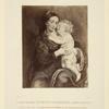 La St. Vierge avec l'enfant.