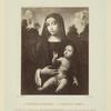 La Vierge avec l'enfant.