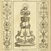 [Central design of basin in stand with designs of birds and large snake.]