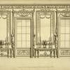 [Several designs of windows and moldings.]