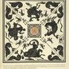 Copiato da un antico pavimento fatto minutissimo musaico bianco é negro, [...]