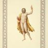 [Nude man holding flaming arrows [Zeus?.].]
