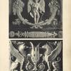 [Figure du haut.-- bronze ciselé et doré ornant le berceau du roi de Rome (palais de Fontainebleau).] [...]