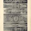 [Figure du haut.-- bronze appliqué sur la ceinture d'une table (Palais de Compiègne) [...] Figure 2.-- bronze ciselé appliqué sur un table à ouvrage] [...]